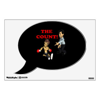 The Count Room Sticker