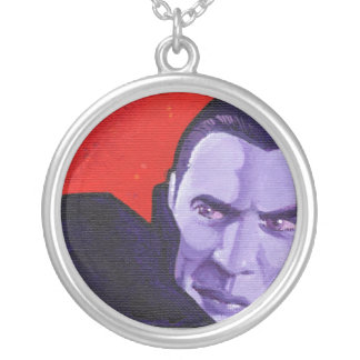 """""""the Count"""" Round Pendant Necklace"""