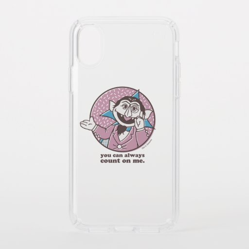 The Count | You Can Always Count On Me Speck iPhone X Case
