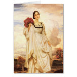 The Countess Brownlow, Frederic Leighton Stationery Note Card