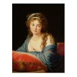 The Countess Catherine Vassilievna Skavronskaia Postcard