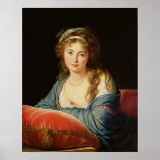 The Countess Catherine Vassilievna Skavronskaia Poster