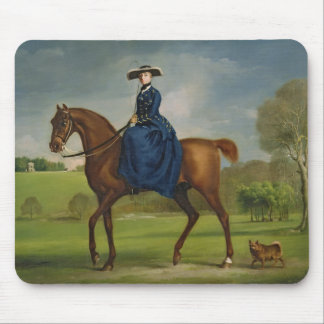 The Countess of Coningsby in the Costume of the Ch Mousepad