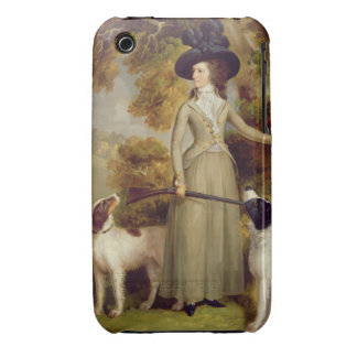 The Countess of Effingham with Gun and Shooting Do iPhone 3 Cases