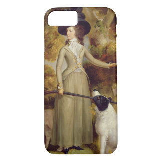 The Countess of Effingham with Gun and Shooting Do iPhone 8/7 Case