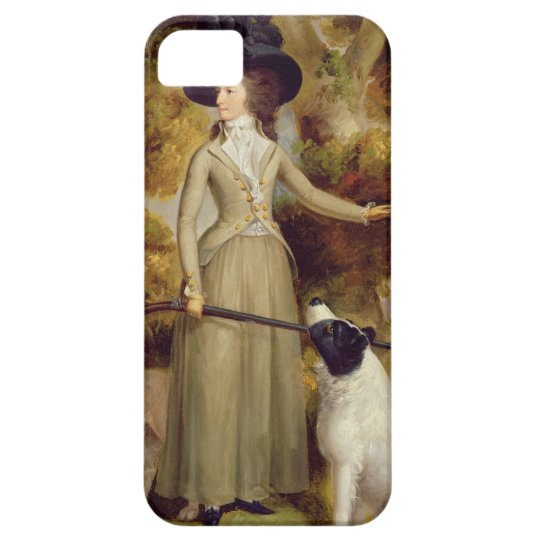 The Countess of Effingham with Gun and Shooting Do iPhone SE/5/5s Case