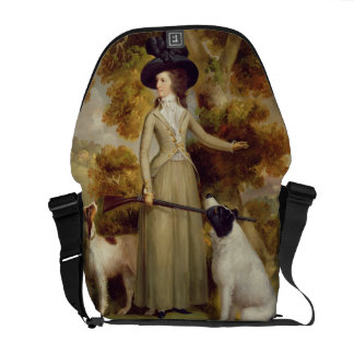 The Countess of Effingham with Gun and Shooting Do Messenger Bags