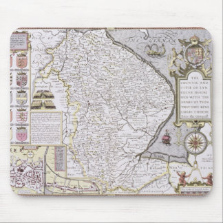 The Countie and Citie of Lyncolne Mousepad