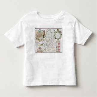 The Countie of Nottingham, engraved by Jodocus T-shirt