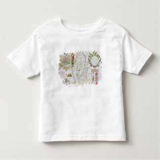 The Countie of Nottingham, engraved by Jodocus Tee Shirt