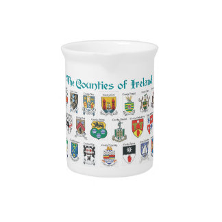 The Counties of Ireland Pitcher
