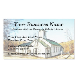 The Country Chapel Business Card