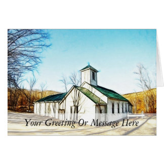 The Country Chapel Card