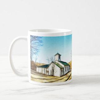 The Country Chapel Coffee Mugs