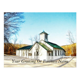 The Country Chapel Postcard