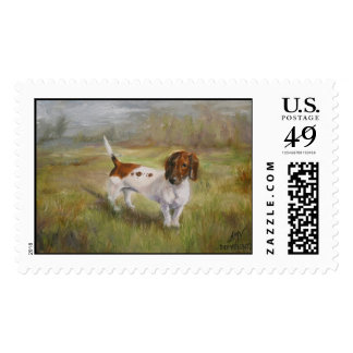 The Country Dachshund Stamp