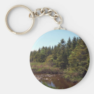 The Country Side Of Life Key Chain
