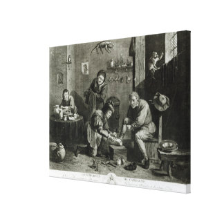 The Country Surgeon Canvas Print