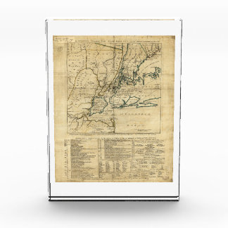 The Country Twenty Five Miles Round New York 1776 Acrylic Award
