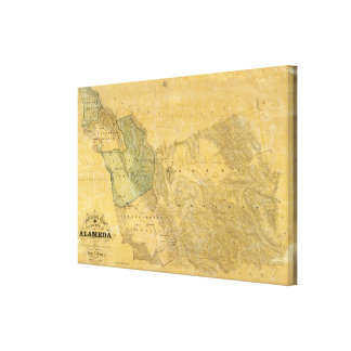 The County Of Alameda California Canvas Print