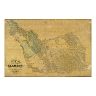 The County Of Alameda California Poster