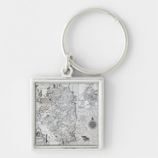 The County of Leinster with the City of Dublin Keychain