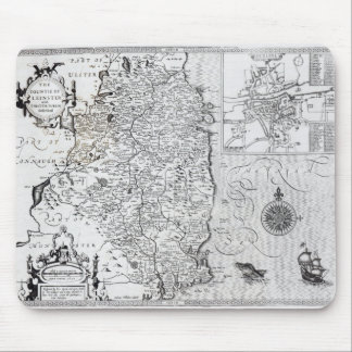 The County of Leinster with the City of Dublin Mouse Pads