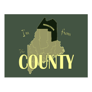 The County Postcard