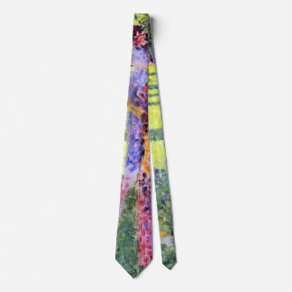 The Couple by Georges Seurat, Vintage Pointillism Neck Tie