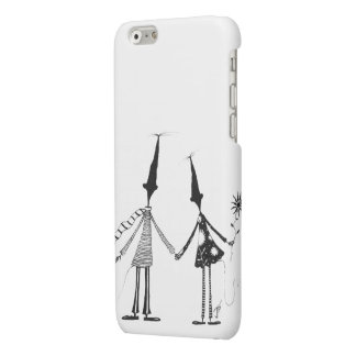 The couple by Mr Trafalgar Matte iPhone 6 Case