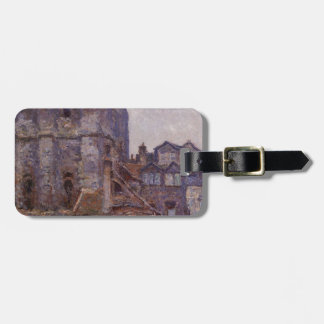 The Cour d'Albane, Grey Weather by Claude Monet Bag Tag