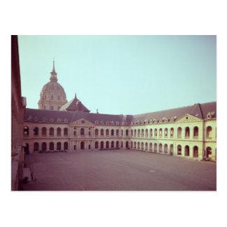 The Cour d'Honneur, built 1679-1706 Postcard