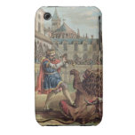 The Courage of Pepin (714-68), engraved by Jean Ba iPhone 3 Cover