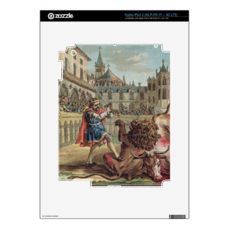 The Courage of Pepin (714-68), engraved by Jean Ba iPad 3 Skin