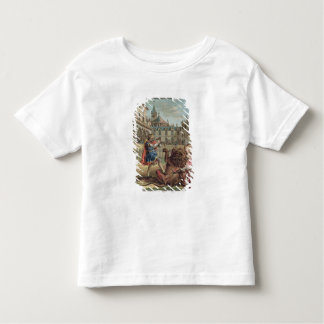 The Courage of Pepin (714-68), engraved by Jean Ba Toddler T-shirt