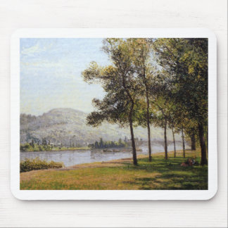 The Cours la Reine at Rouen Morning, Sunlight Mouse Pad