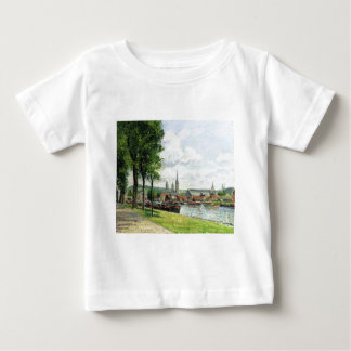 The Cours la Riene, The Notre Dame Cathedral Baby T-Shirt