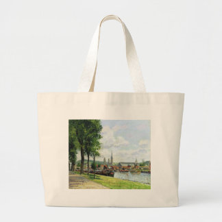 The Cours la Riene, The Notre Dame Cathedral Jumbo Tote Bag