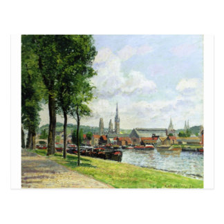 The Cours la Riene, The Notre Dame Cathedral Postcard