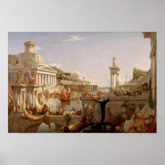 The Course of Empire: Consummation Print