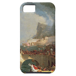 The Course of Empire: Destruction by Thomas Cole iPhone SE/5/5s Case