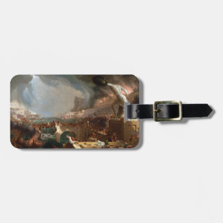 The Course of Empire: Destruction by Thomas Cole Luggage Tag