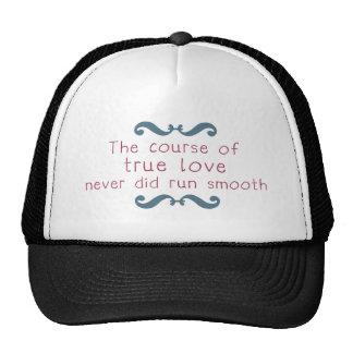 The Course of True Love Trucker Hat
