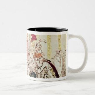 The Court at Brighton a la Chinese, 1816 Coffee Mug