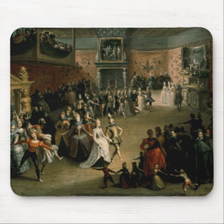 The Court Ball, 1604 Mouse Pad