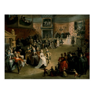 The Court Ball, 1604 Post Cards