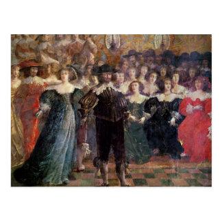 The Court Ball Postcard