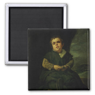 The Court Dwarf, Don Franciso Lezcano Refrigerator Magnets