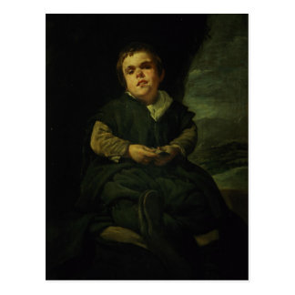 The Court Dwarf, Don Franciso Lezcano Postcard