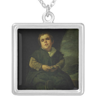 The Court Dwarf, Don Franciso Lezcano Silver Plated Necklace
